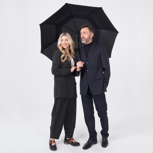 Мужской семейный зонт - трость 232300