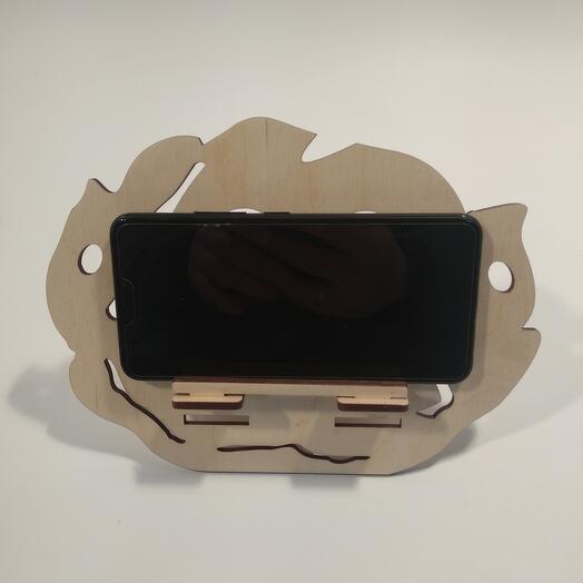 "Подставка под телефон  ""Капуста "" 217x163мм подставка под планшет, подставка под книгу"