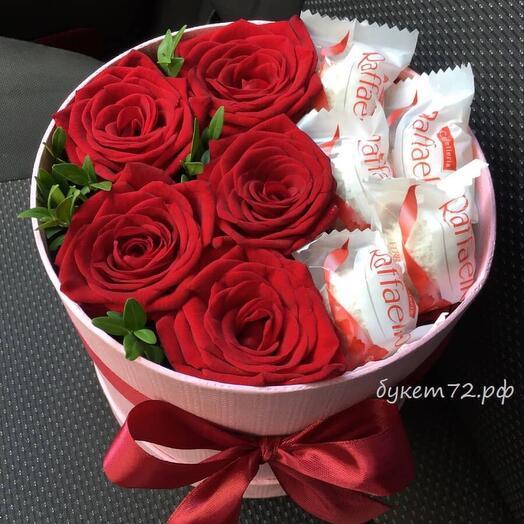 Цветы в коробке 32