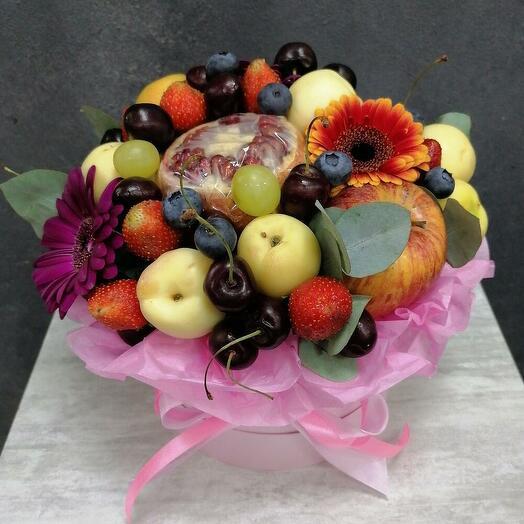 Fructis (фруктовый бокс с герберой)