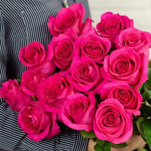 Букет из роз «Пинк Флойд»