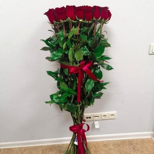Букет из 25 роз, 110 см
