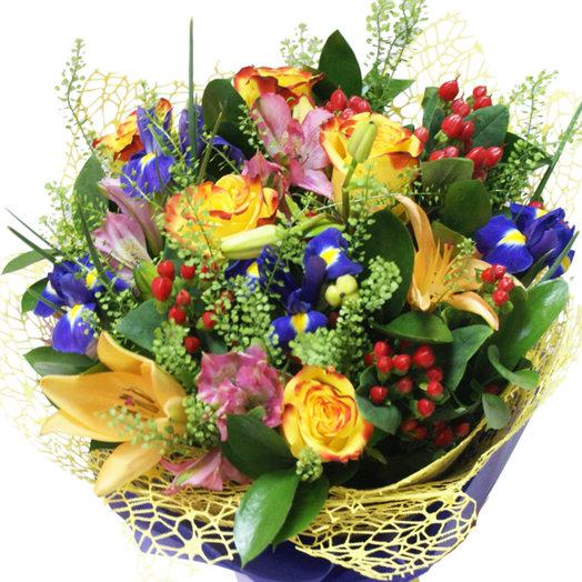 Букет Цветочное множество: букеты цветов на заказ Flowwow