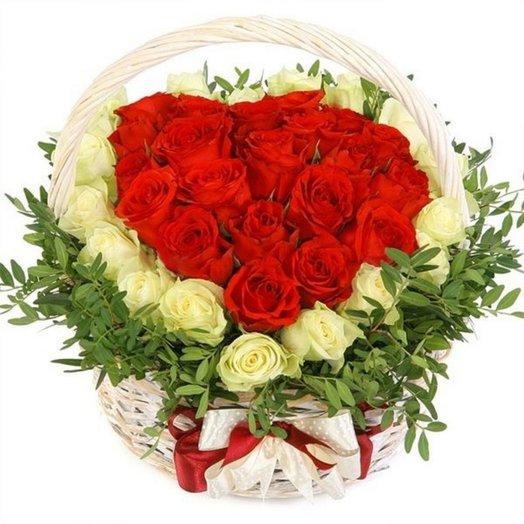 Ты мое сердце: букеты цветов на заказ Flowwow