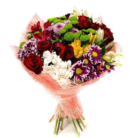 Букет 373: букеты цветов на заказ Flowwow