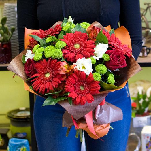 Букет цветов Яркий