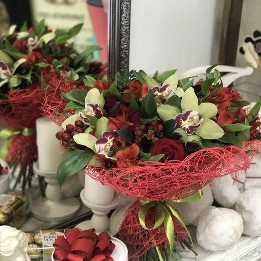 Бомонд: букеты цветов на заказ Flowwow