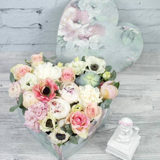 В самое сердце: букеты цветов на заказ Flowwow