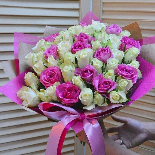 Букет Всплеск чувств: букеты цветов на заказ Flowwow