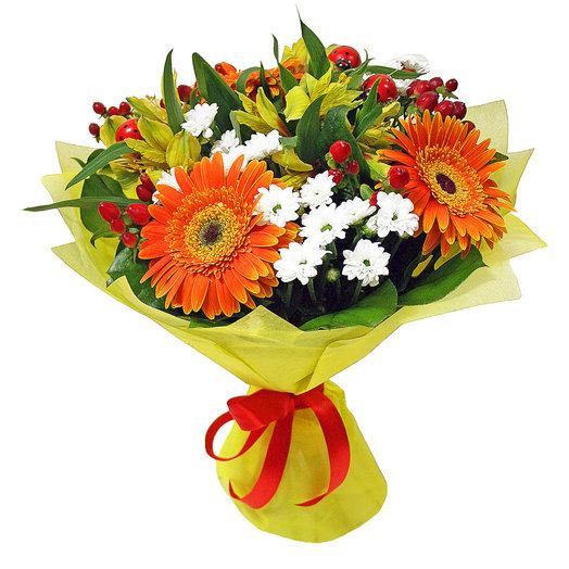 Букет Начало осени: букеты цветов на заказ Flowwow