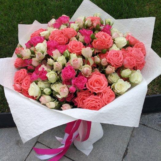 Оригинальный букет: букеты цветов на заказ Flowwow