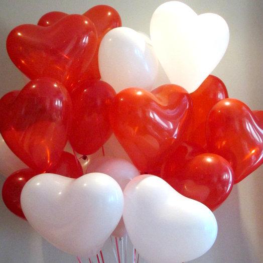 """Композиция """"Сердечное поздравление"""": букеты цветов на заказ Flowwow"""