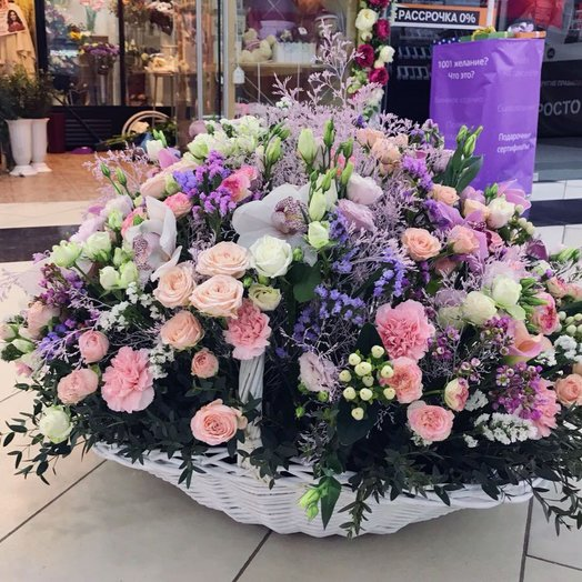 Облако нежности : букеты цветов на заказ Flowwow