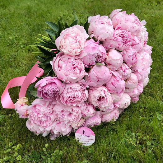Цветы на заказ с доставкой пионы пышные, купить цветы голландском
