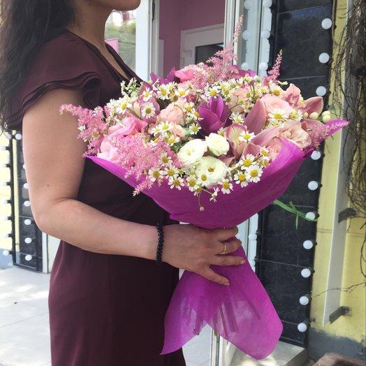 Городской прованс: букеты цветов на заказ Flowwow