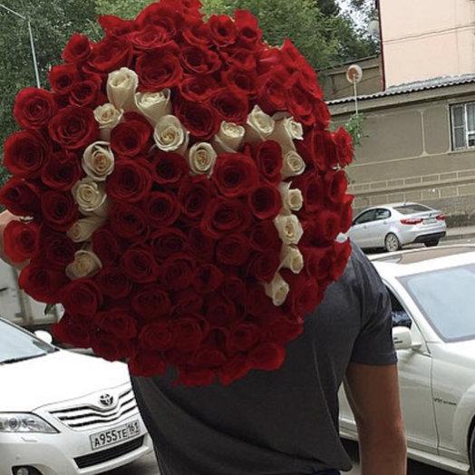 Голландская роза: букеты цветов на заказ Flowwow