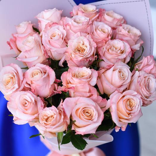 9 роз Шиммер: букеты цветов на заказ Flowwow