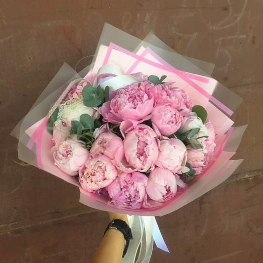 Розовый туман: букеты цветов на заказ Flowwow