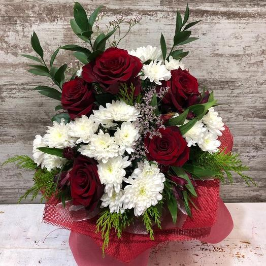 Нежная композиция: букеты цветов на заказ Flowwow