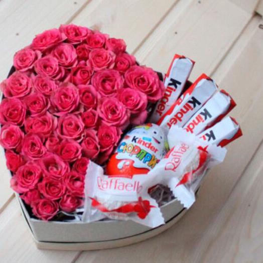 В день влюбленных: букеты цветов на заказ Flowwow
