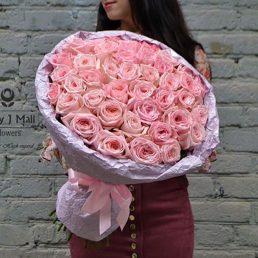 MJM. 51 сортовая роза: букеты цветов на заказ Flowwow
