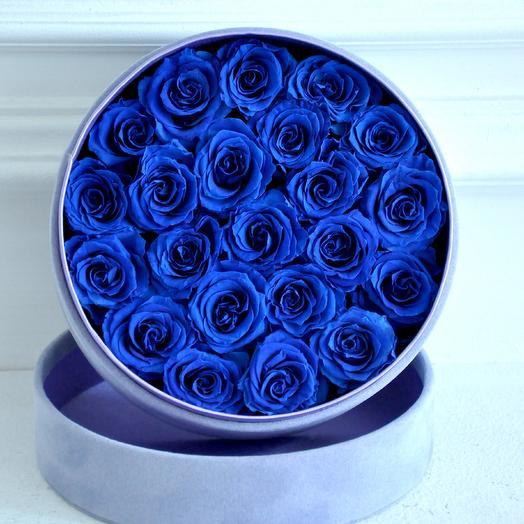 Букет из вечных роз (размер L): букеты цветов на заказ Flowwow
