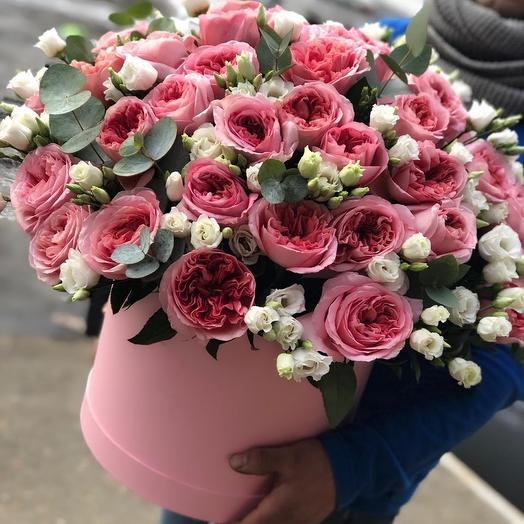 Коробка восхищения: букеты цветов на заказ Flowwow