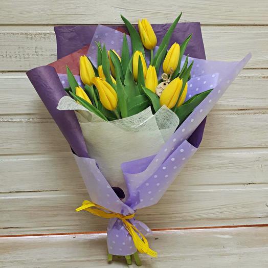 "Букет из тюльпанов ""Матильда"": букеты цветов на заказ Flowwow"
