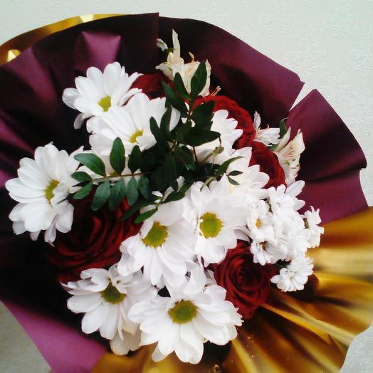 Золотой сад: букеты цветов на заказ Flowwow