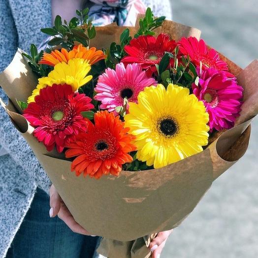 Букет «Солнечный»: букеты цветов на заказ Flowwow