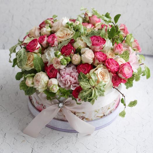 """ИСПАНСКИЕ МОТИВЫ"": букеты цветов на заказ Flowwow"