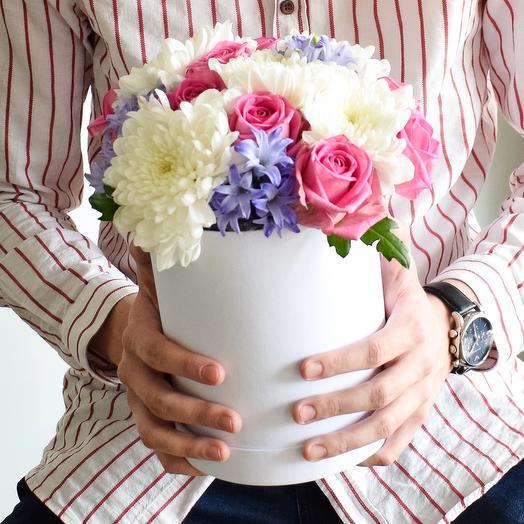 Коробочка 4 Small: букеты цветов на заказ Flowwow
