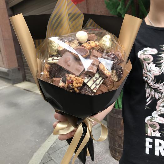 Самый вкусный букет для любимой: букеты цветов на заказ Flowwow