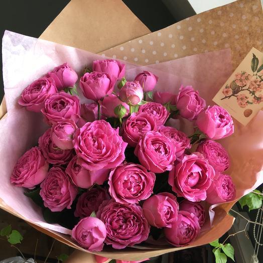Вишневый: букеты цветов на заказ Flowwow