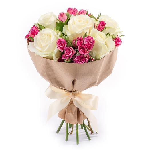 Топ букет: букеты цветов на заказ Flowwow