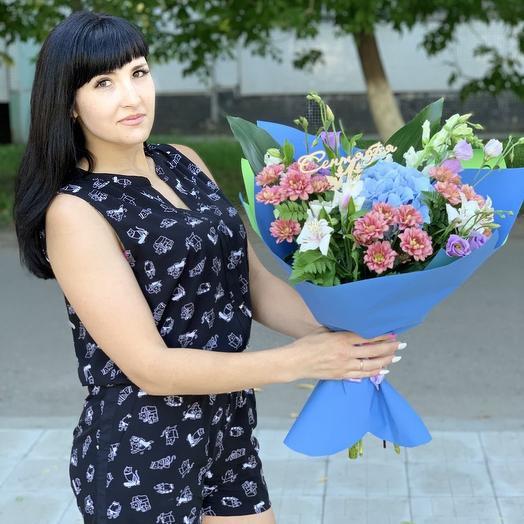 Букет яркие впечатления: букеты цветов на заказ Flowwow