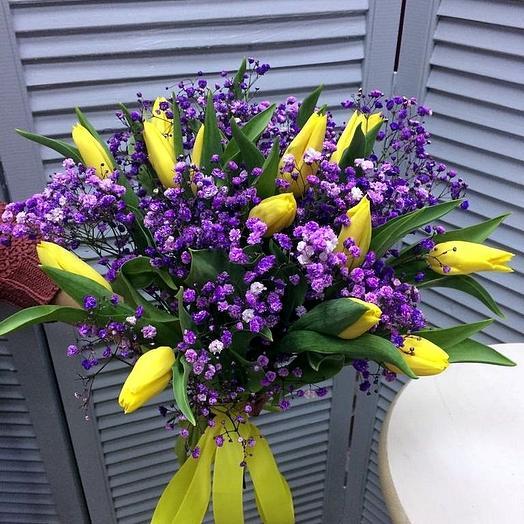 Хочу в Прованс:)): букеты цветов на заказ Flowwow