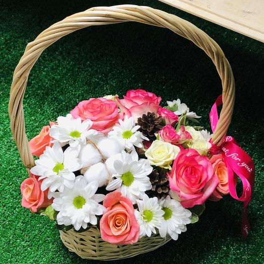Корзина «For You»: букеты цветов на заказ Flowwow