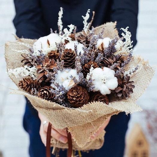 Зимнее дыхание: букеты цветов на заказ Flowwow