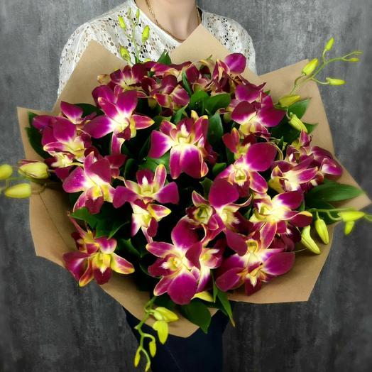 Пламенное сердце: букеты цветов на заказ Flowwow