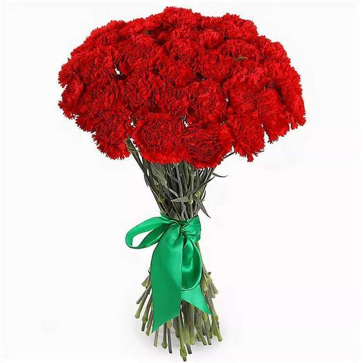 Гвоздики 35 шт: букеты цветов на заказ Flowwow