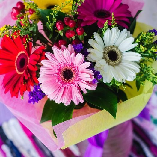 Чудесное мгновение: букеты цветов на заказ Flowwow