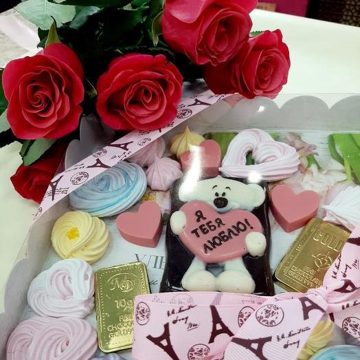 Я тебя люблю: букеты цветов на заказ Flowwow