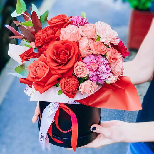 Алая ночь: букеты цветов на заказ Flowwow