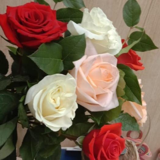 Букет Роза микс признание