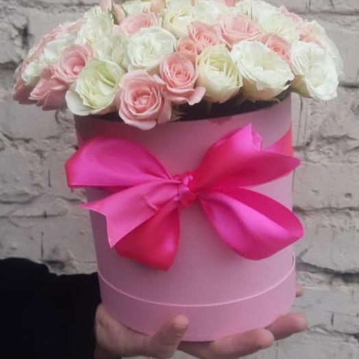 """""""Прелесть""""  в шляпной коробке: букеты цветов на заказ Flowwow"""