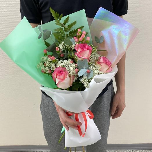 Беззаботная юность💞: букеты цветов на заказ Flowwow