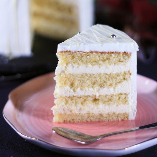 Ванильный торт