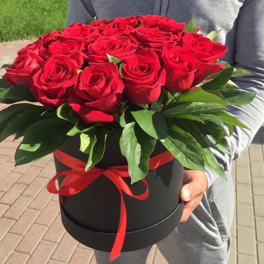 Розы в коробочке❣️