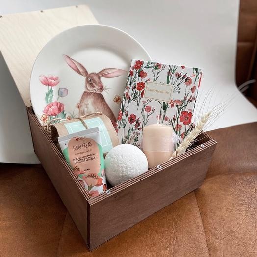 Подарочный бокс «Кролик»